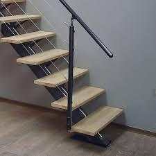 escalier peint 2 couleurs 100 escalier bois moderne les 25 meilleures idées de la