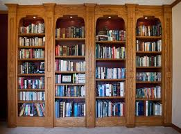 interior design classic bookshelves design for home library