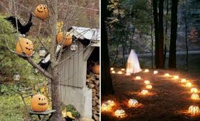 outdoor halloween ideas cheap halloween decor halloween door