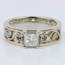 vintage wedding ring sets vintage bridal ring sets for your bridal party