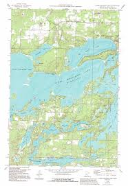 State Of Mn Map by Lower Whitefish Lake Topographic Map Mn Usgs Topo Quad 46094f2