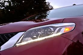 nissan altima 2015 led headlights 2015 toyota sienna first look motor trend