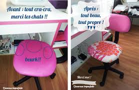 pour chaise de bureau une nouvelle housse pour chaise de bureau diy diy