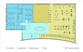 club floor plan gallery of moffett gateway club des architects engineers 21