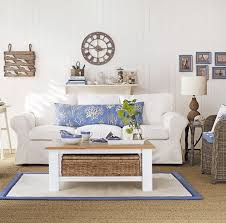 How To Decorate A Bedroom With White Furniture by 26 Cool Brown And Blue Living Room Designs Digsdigs