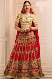 bridal wear silk bridal wear lehenga choli in colour