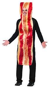 Anatomy Halloween Costumes Amazon Rasta Imposta Bacon Strip Costume Brown Size