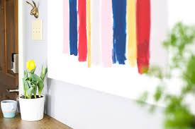 Diy Ikea Nornas by Quick And Easy Diy Brush Stroke Art Love U0026 Renovations