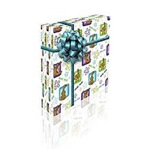 scooby doo wrapping paper scooby doo personalised birthday gift wrap with 2 tags add name 15
