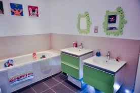 fun bathroom ideas modern bathroom for kids ideas feat adorable white vanity unit