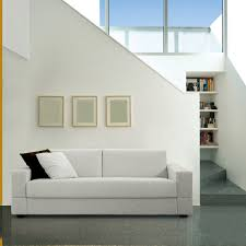 sofa bed contemporary fabric 2 seater brian milano bedding