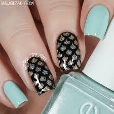 nailsbyerin mermaid nails to match my living royal socks