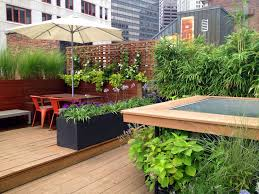 boston tall outdoor planters deck contemporary with perennials