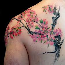 125 best cherry blossom tattoos of 2017 wild tattoo art