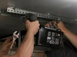 garage door lifter install electric garage door opener hgtv
