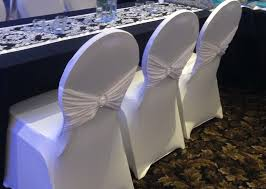 white spandex chair covers spandex chair covers
