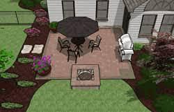 pre priced patio designs cincinnati schneider u0027s landscaping