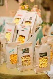 popcorn favors wedding ideas favor weddbook