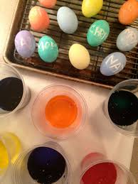why do we color eggs for easter eggs flour u0026 oil