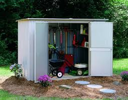 gorgeous garden steel storage shed with steel tool lawn mower shed