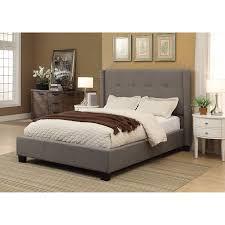 Tufted King Bed Frame Macallister Upholstered King Bed