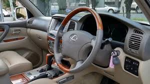 lexus suv lx 470 used 2003 lexus lx470 with brand new leather interior youtube