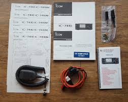 for sale icom ic 7410 w mars cap mod and nifty manual qrz forums