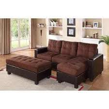 Microfiber Reversible Chaise Sectional Sofa Microfiber Sectional Sofas With Chaise Centerfieldbar Com