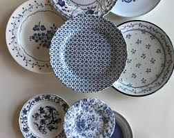 mismatched plates wedding mismatched plates etsy