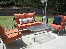 Orange Wicker Patio Furniture - patio amazing patio furniture at target wayfair patio sets patio
