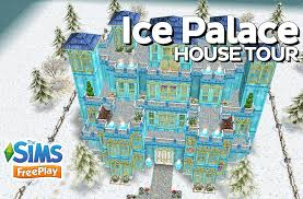 Palace Design The Sims Freeplay Ice Palace Original Design Youtube