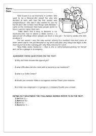 printable reading comprehension test reading comprehension worksheet