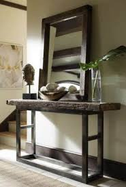 Wooden Console Table Iron Wood Console Table Foter