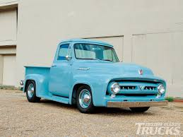 Ford Vintage Truck - 1953 ford f 100 cool as a glacier rod network