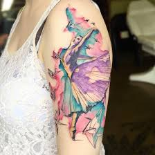 40 wonderful ballerina u0026 dancer tattoo designs tattooblend