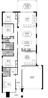 plan kitchen chic interior simple new home designs plan layout