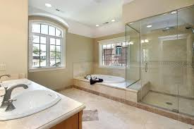 Master Bathroom Tile Ideas Photos White Laminated Wooden Base Cabinets Master Bathroom Shower Tile
