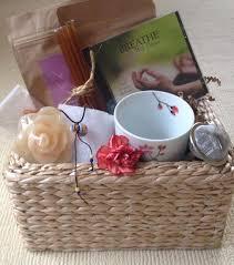 cancer gift baskets organic tea gift basket get well breast cancer gift basket