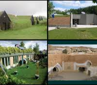 underground home construction earth bermed homes berm house plans