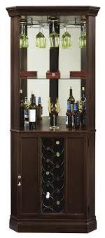 corner bar cabinet black howard miller traditional espresso finish corner wine bar cabinet