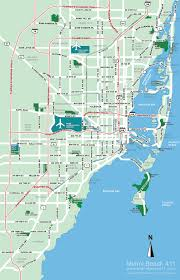 South Florida Map With Cities by Miami Florida Map
