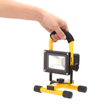 10w rechargeable flood light rechargeable ip65 10w high power 600lm led flood light adjustable