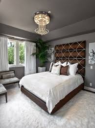 high bedroom decorating ideas fantastic wall design with unique brown high headboard