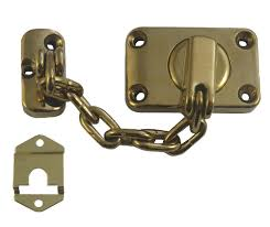 Door Bolts Yale Chubb Ws16 Combined Door Chain And Bolt Brass Www