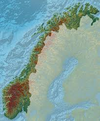 Map Of Norway Elevation Maps Of Italy France Usa Sweden And Norway Album On