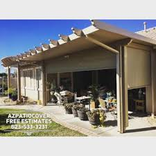 Patio Roll Down Shades Az Patio Cover Sun Control Llc Proudly Made In The U S A