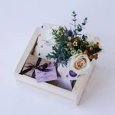 floral gift box chocolate lover gift box santa barbara the santa barbara company