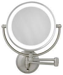 round makeup mirror with lights round lighted makeup mirror inovodecor com