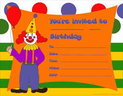birthday party invitations kids birthday party invitations free printable 1st birthday