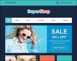 40 best email newsletter templates html psd free download